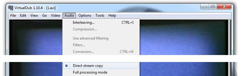 VirtualDub tutorial