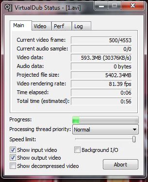 virtualdub image sequence